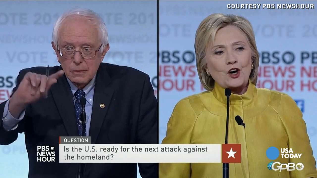 Hillary Clinton and Bernie Sanders engaged in a heated sixth Democratic debate in Milwaukee, and both candidates spinned points during the debate.