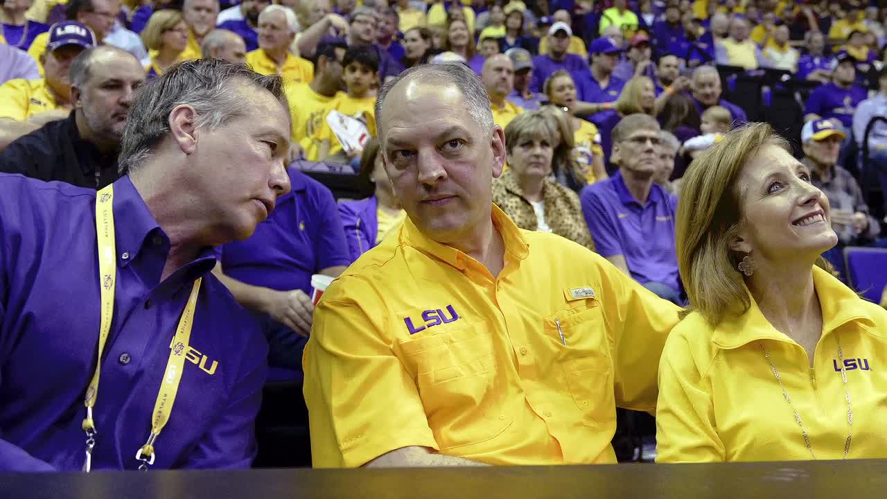 In an address to the state of Lousiana on Thursday, governor John Bel Edwards said the state's budget crisis would force the cancellation of the LSU Tigers football season if it's not addressed in an upcoming special legislative session.