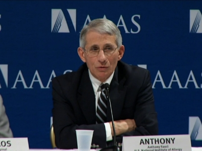 Disease expert Dr. Anthony Fauci, said Friday that there have not yet been any cases of locally transmitted Zika virus in the continental United States, bud added he wouldn't be surprised if that changes. (Feb. 12)