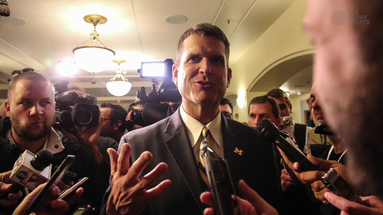 Jim Harbaugh's travel cost Michigan $10K per day