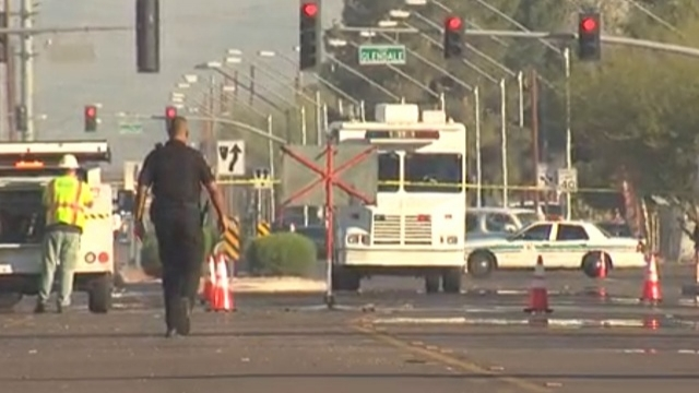 A police spokesperson confirmed authorities are investigating a double shooting at a high school in Glendale, Arizona.