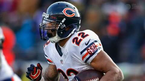 The Bears will not be resigning running back Matt Forte.