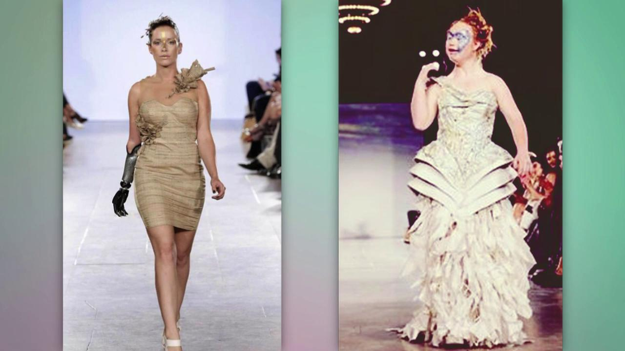 Model with Down syndrome takes over the runway at NYFW