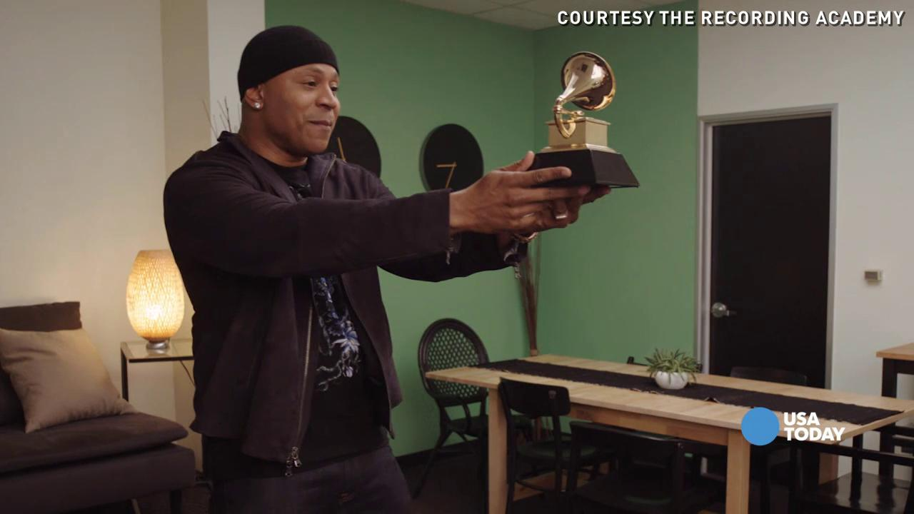 Introducing the GRAMMYcam: A new way for fans to see their favorite stars at the 58th Annual Grammy Awards. Host LL Cool J explains more.