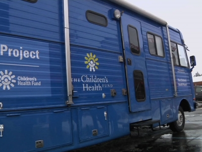 Mobile Pediatric Clinic Arrives to Aid Flint