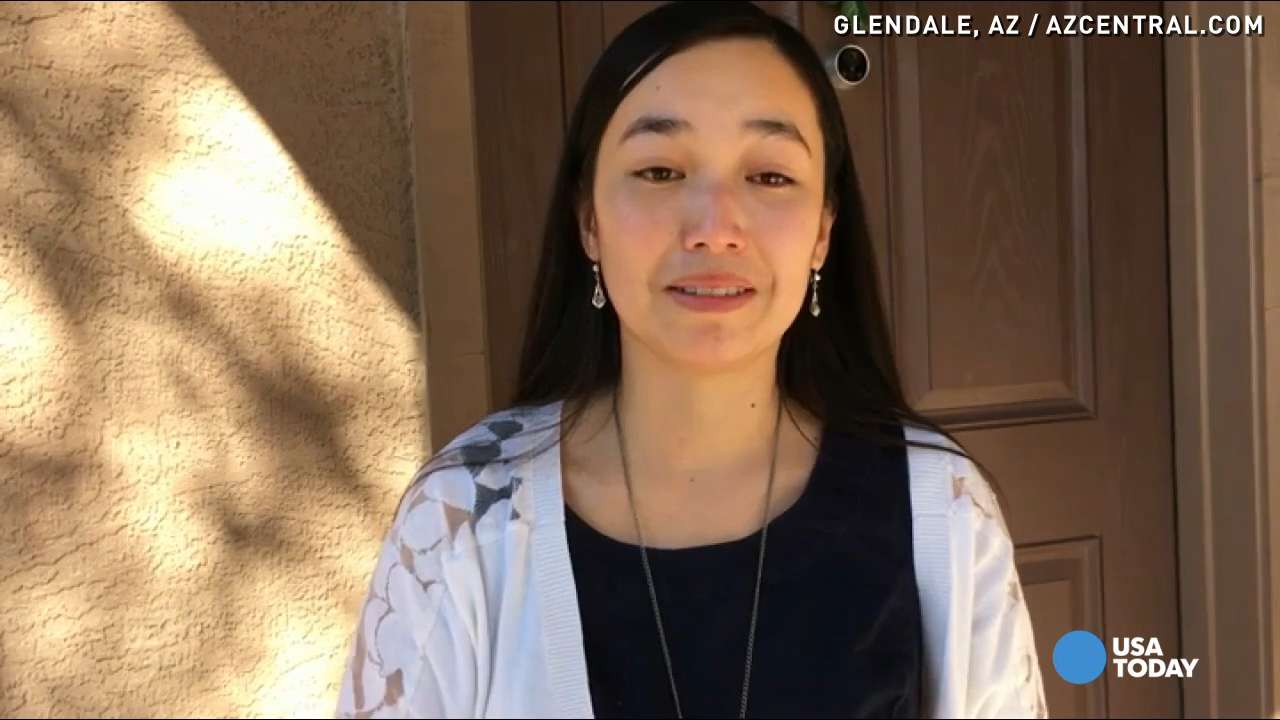 A teacher says her sister was of one of the 15-year-old female students found dead at an Arizona high school.