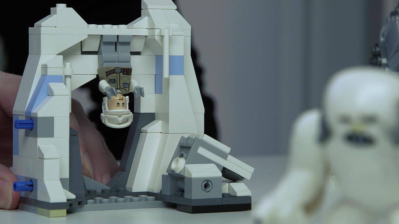 "LEGO designers discuss the ""Assault on Hoth"" set, featuring characters and vehicles from ""The Empire Strikes Back."""