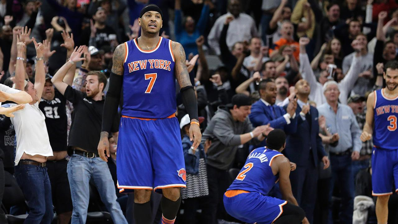 The Boston Celtics and Cleveland Cavaliers reportedly discussed a trade centered around Kevin Love that initially included New York Knicks forward Carmelo Anthony,  according to Frank Isola of the New York Daily News.