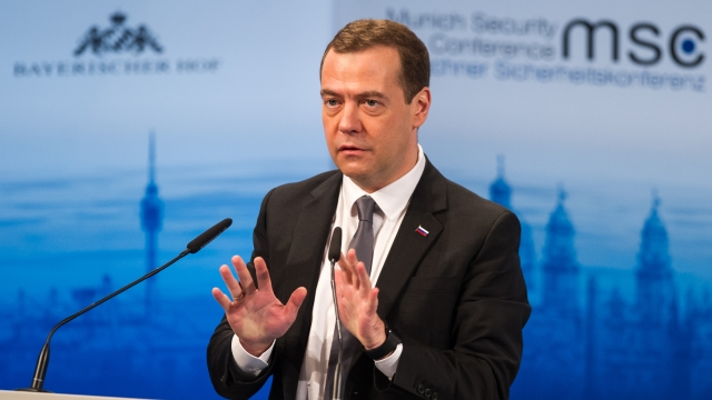 Russian prime minister claims we're barreling toward A 'New cold War'