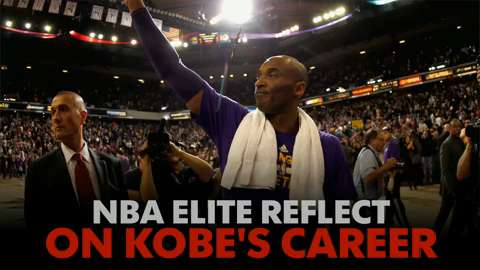 The best players in the NBA reflect on the career of Kobe Bryant.