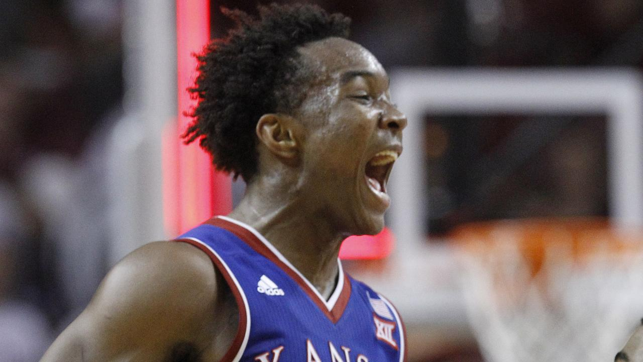 After playing a triple overtime thriller in their first meeting Kansas and Oklahoma played another tight game again on Saturday.