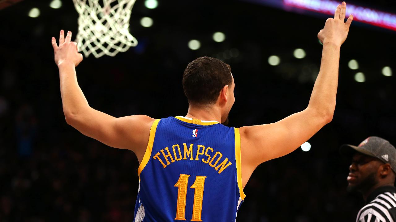 In an all Warriors final it was Klay Thompson taking home the 2016 NBA three point contest during All-Star weekend.