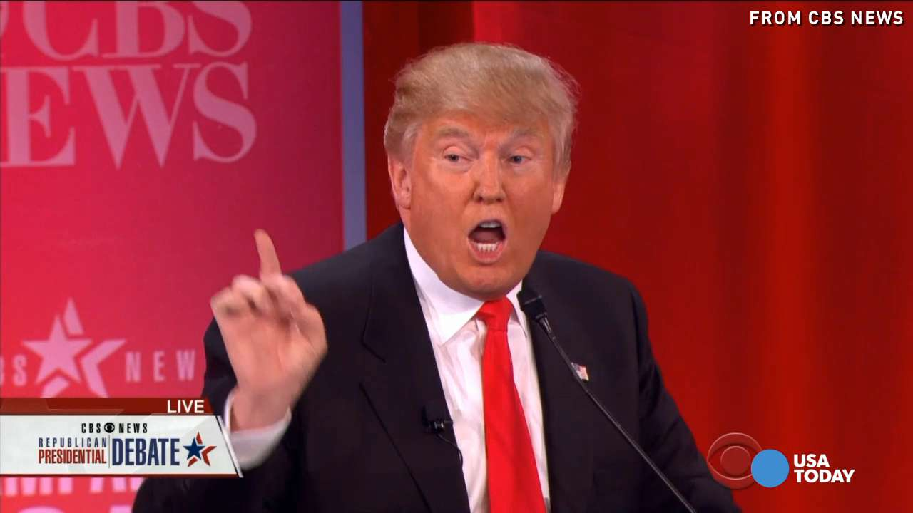 Donald Trump faced off with the other five Republican candidates in the CBS hosted debate in South Carolina, and got booed again, repeatedly.