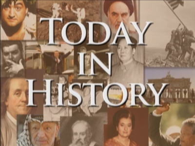 Highlights of this day in history:  The St. Valentine's Day Massacre; Iran's Ayatollah Khomeini calls on Muslims to kill author Salman Rushdie; Slobodan Milosevic begins his defense against war crimes charges; Dolly the cloned sheep dies.  (Feb. 14)