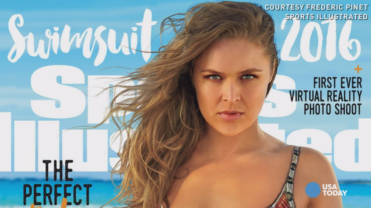 Ronda Rousey scores 'Sports Illustrated Swimsuit' cover