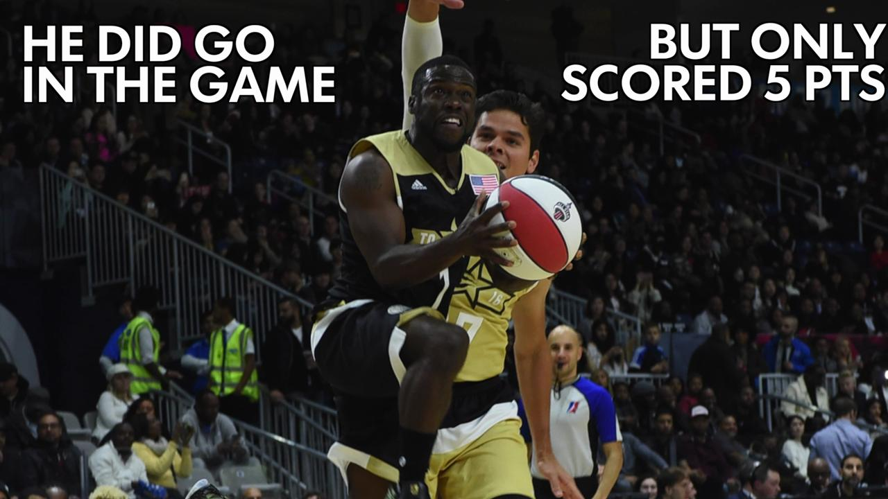 Bold pregame predictions from Kevin Hart