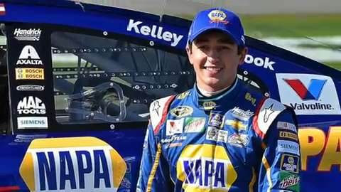 Chase Elliott is the third rookie in four years to win the pole for NASCAR's biggest race.