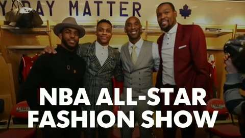 NBA All-Star Fashion Show