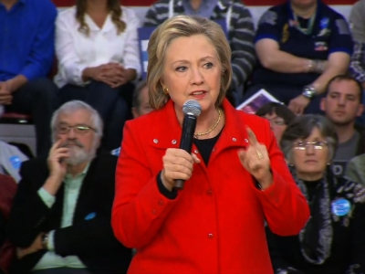 Clinton: Senate Has 'Duty' to Fill Vacant Seat