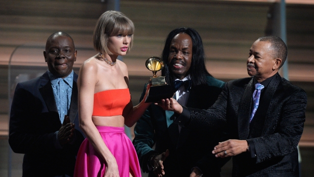 T-Swift shuts down Kanye in girl-power Grammys speech