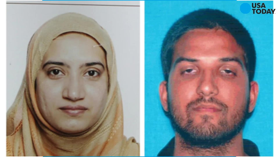 Syed Farook and Tashfeen Malik, the assailants in the San Bernardino, Calif., shootings in December.