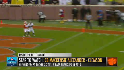 Is Mackensie Alexander's Height An Issue? | Inside The NFL Combine