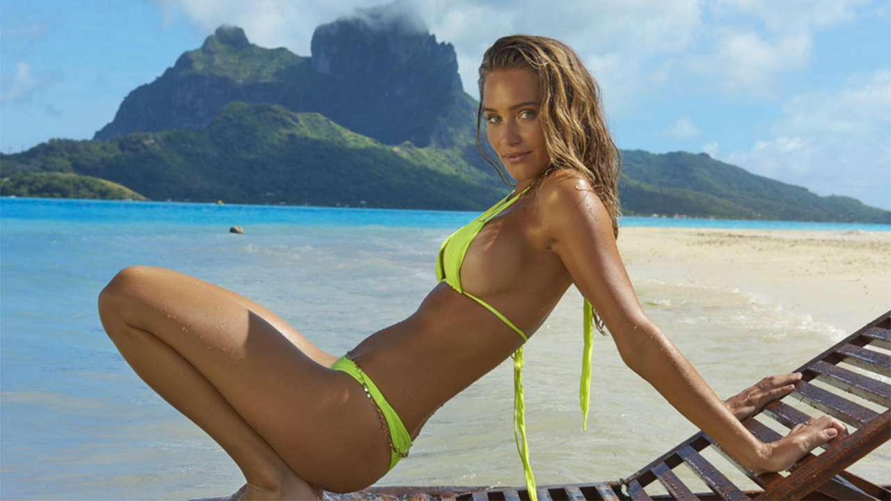 Hannah Davis is happy to pass SI Swimsuit cover torch