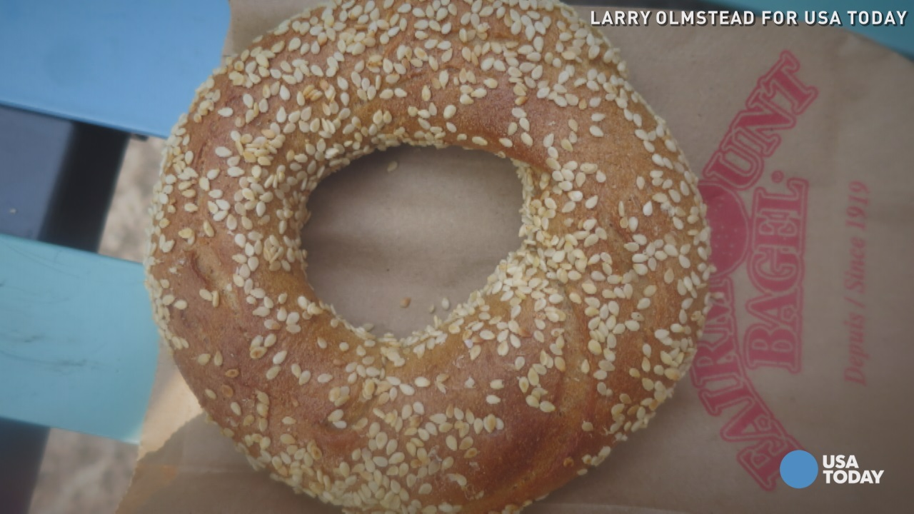 New York's bagels are known around the world, but Montreal's bagels have gone even further.