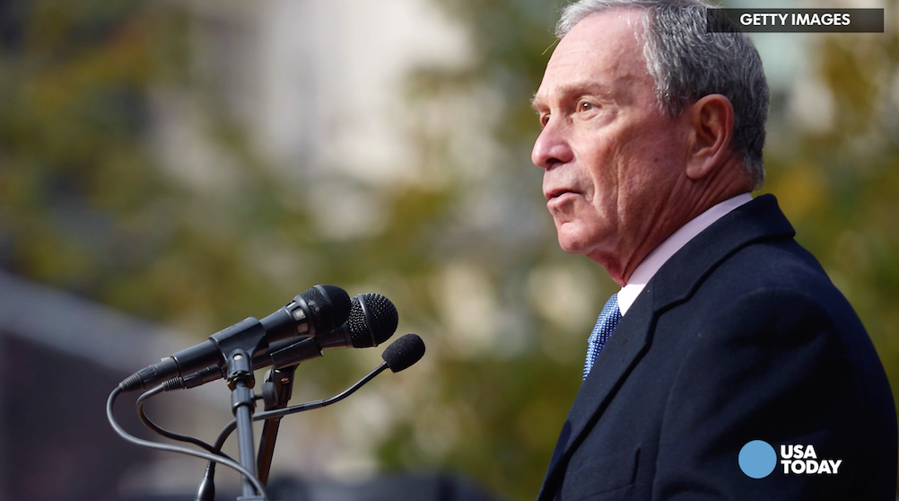 "It was less than three years ago that Michael Bloomberg, who's now thinking about running for president, said that it was ""impossible'' for him or any independent candidate to reach the White House."