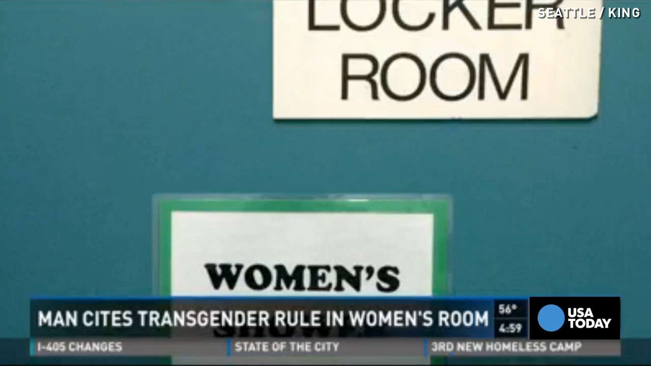 How Do Beat Escape The Bathroom seattle man tests transgender ruleundressing in women's locker
