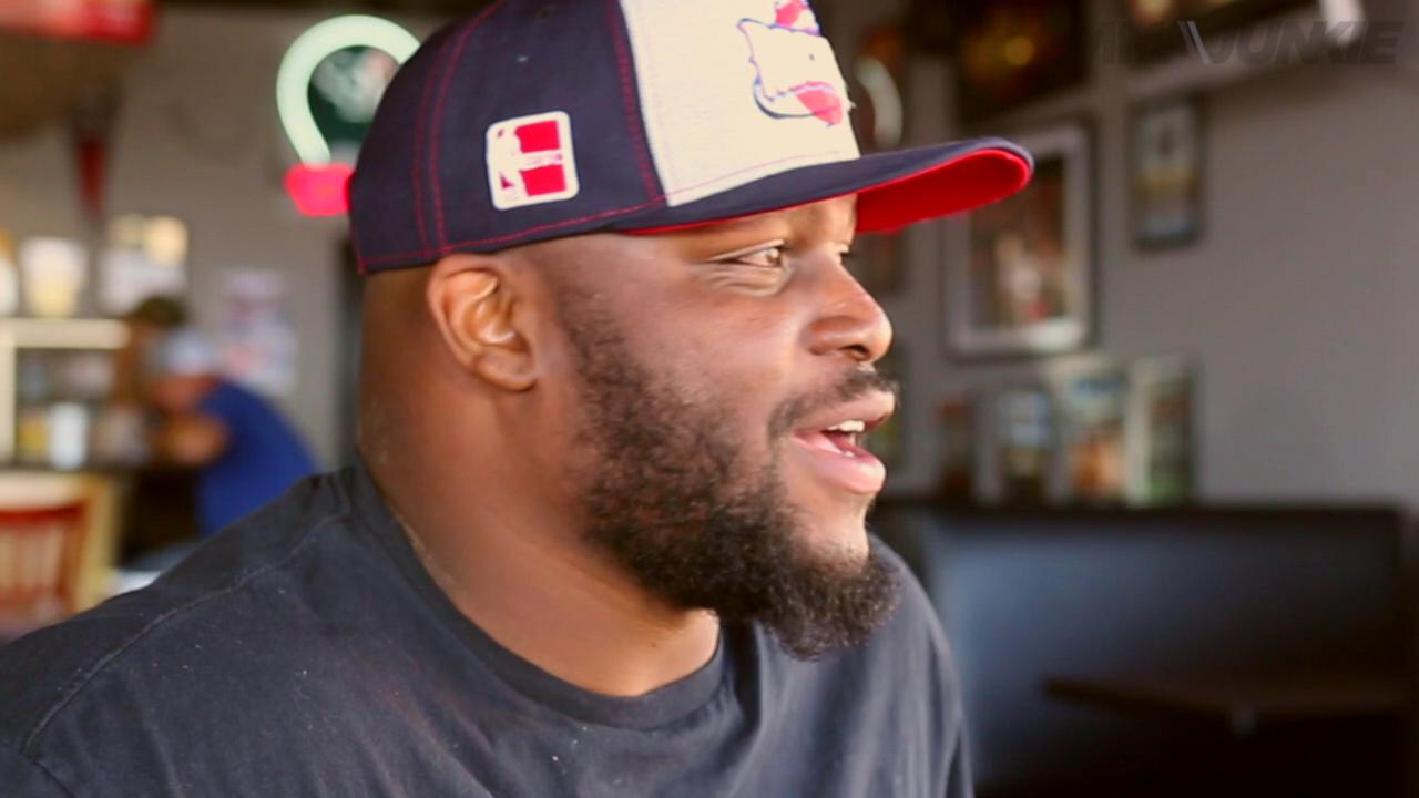 Sit down with UFC Heavyweight Derrick Lewis at Mike's Seafood restaurant in Houston
