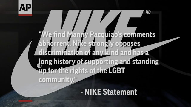 Manny Pacquiao Fires Back Against Nike Deal Loss