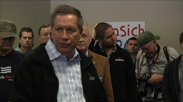 Kasich Slams Negative Attacks on Campaign Trail
