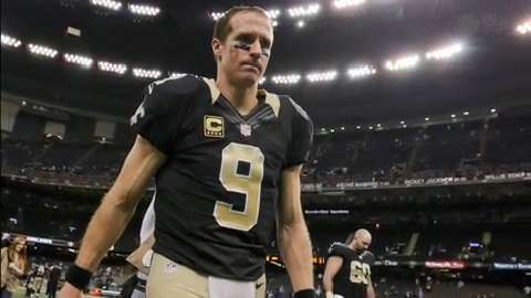 Brees may end career with Saints