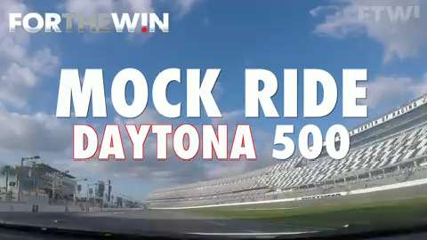 USA TODAY Sports got a real life look at what it's like to ride the Daytona 500 track.