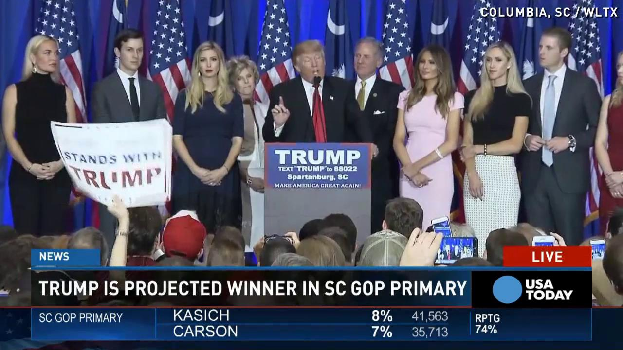 Trump after S.C. win: 'Let's put this thing away'