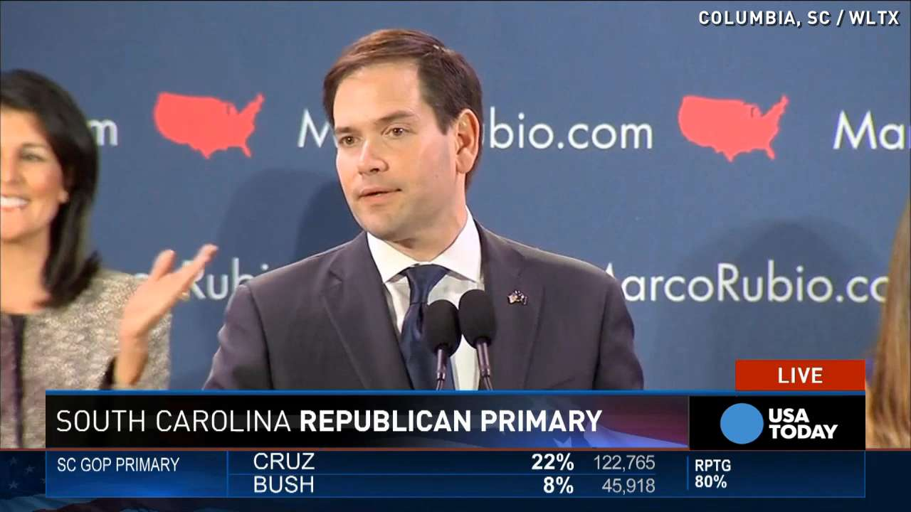Marco Rubio: It's a '3-person race' after SC