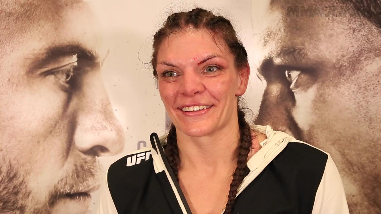 Lauren Murphy ecstatic she didn't leave first UFC win in judges' hands