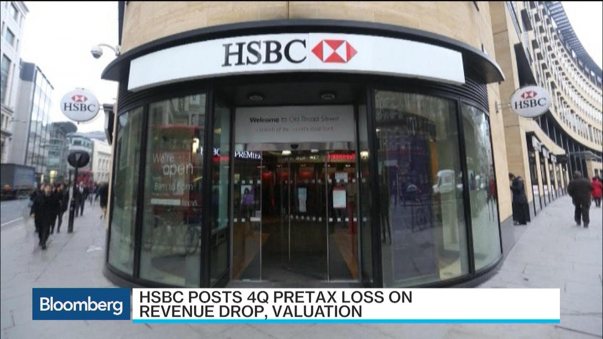 HSBC posts unexpected $858 million pretax loss