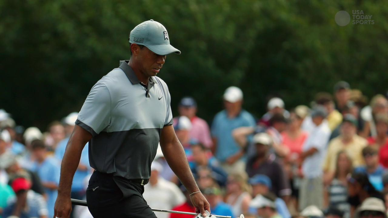 Mark Steinberg dismissed tweets reporting that Woods can't sit without pain and has difficulty walking.