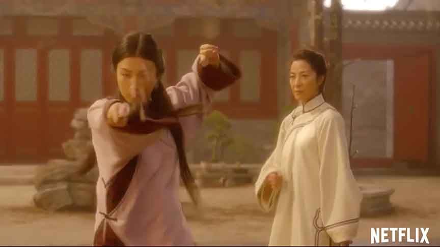 crouching tiger hidden dragon sword of destiny full movie english version