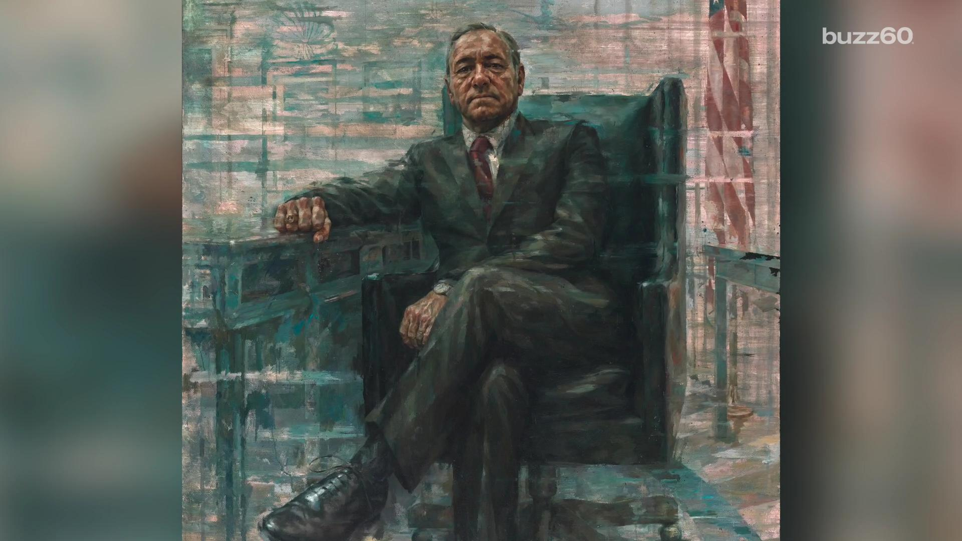 Kevin Spacey's 'House of Cards' character gets presidential treatment at National Portrait Gallery
