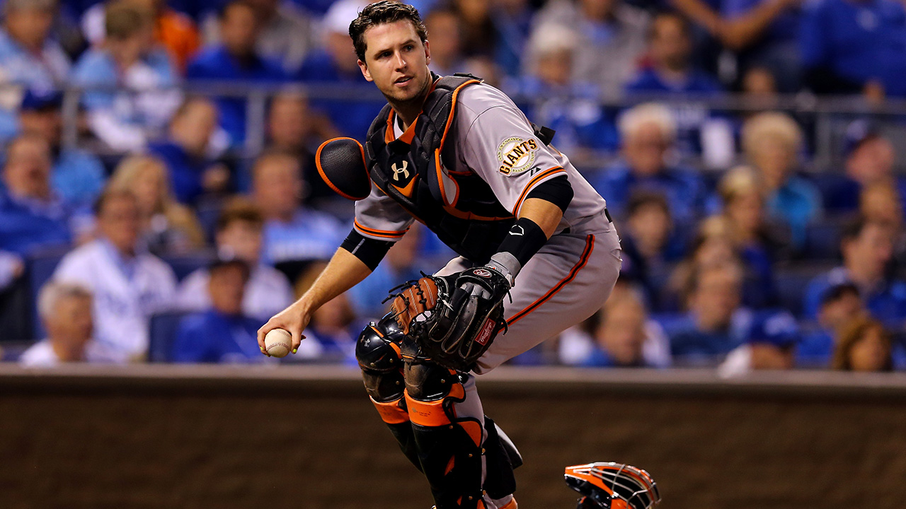 Buster Posey: 'I plan on catching as long as I can'