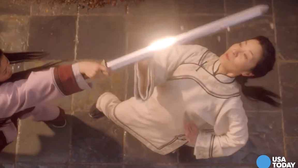 Michelle Yeoh and Donnie Yen in 'Crouching Tiger, Hidden Dragon: Sword of Destiny.'