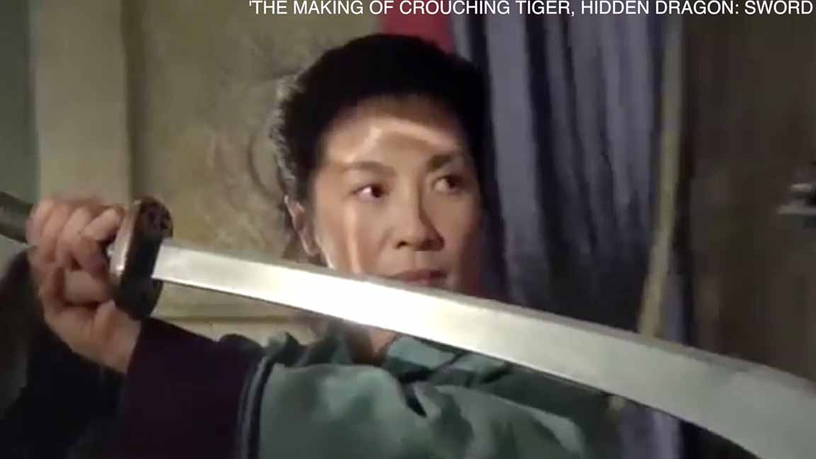 Michelle Yeoh: Trust important in staging 'Crouching Tiger' stunts