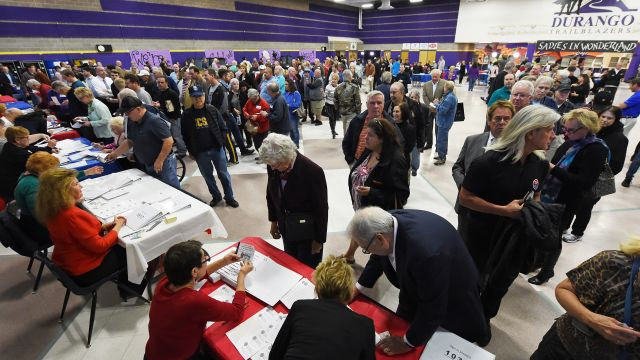 GOP Nevada caucus marked by high turnout, confusion