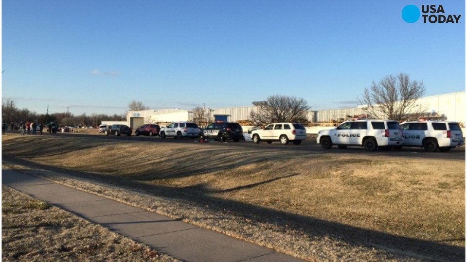 Multiple dead, plus shooter, after Kansas shootings