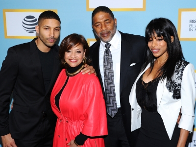 Stars attend the Essence Luncheon in Beverly Hills, to celebrate the achievements of black women in Hollywood. When asked about the Oscars diversity debate, Debbie Allen suggested people focus on the ongoing presidential race instead (Feb. 26)