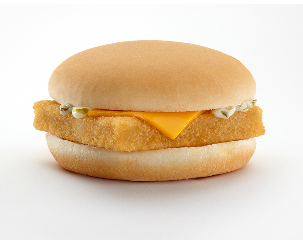 Filet o fish inventor brought patrons back to mcdonald 39 s for Mcdonald s fish sandwich nutrition