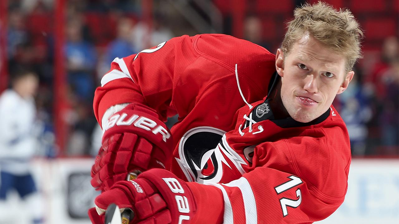 Eric Staal traded to Rangers
